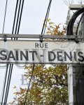 Paris escort Saint-Denis Street photo